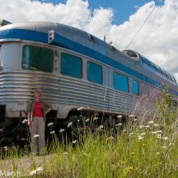 VIA Rail Skeena Train