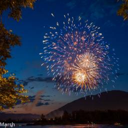 Canada Day celebrations in Kamloops