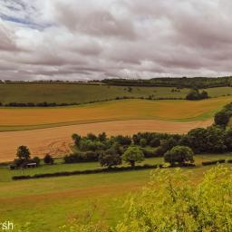 Walk: Three Hills. Lowbury, Kingstanding, Lollingdon