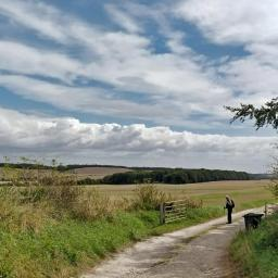 Walk: Uffington south - Whit Coombe