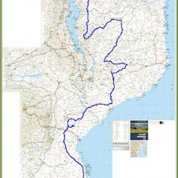 A thumbnail of the route through Mozambique
