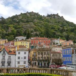 Moorish Castle and Sintra Town